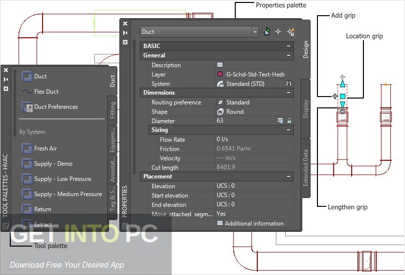 Autodesk AutoCAD MEP 2018 Direct Link Download-GetintoPC.com