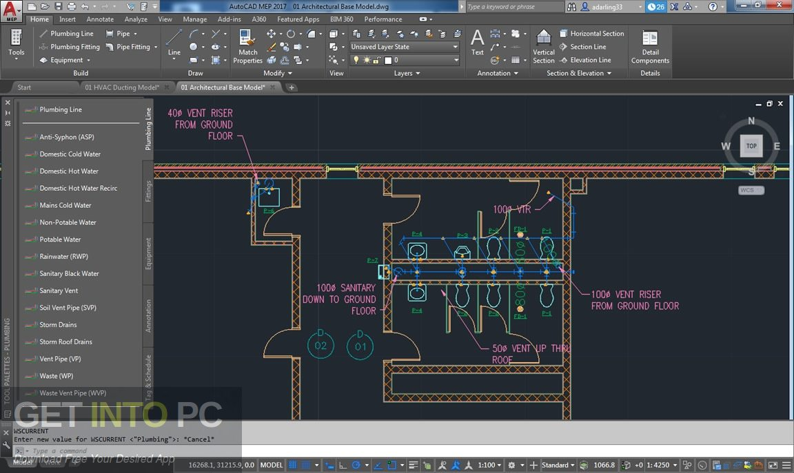Autodesk AutoCAD MEP 2018 Latest Version Download-GetintoPC.com