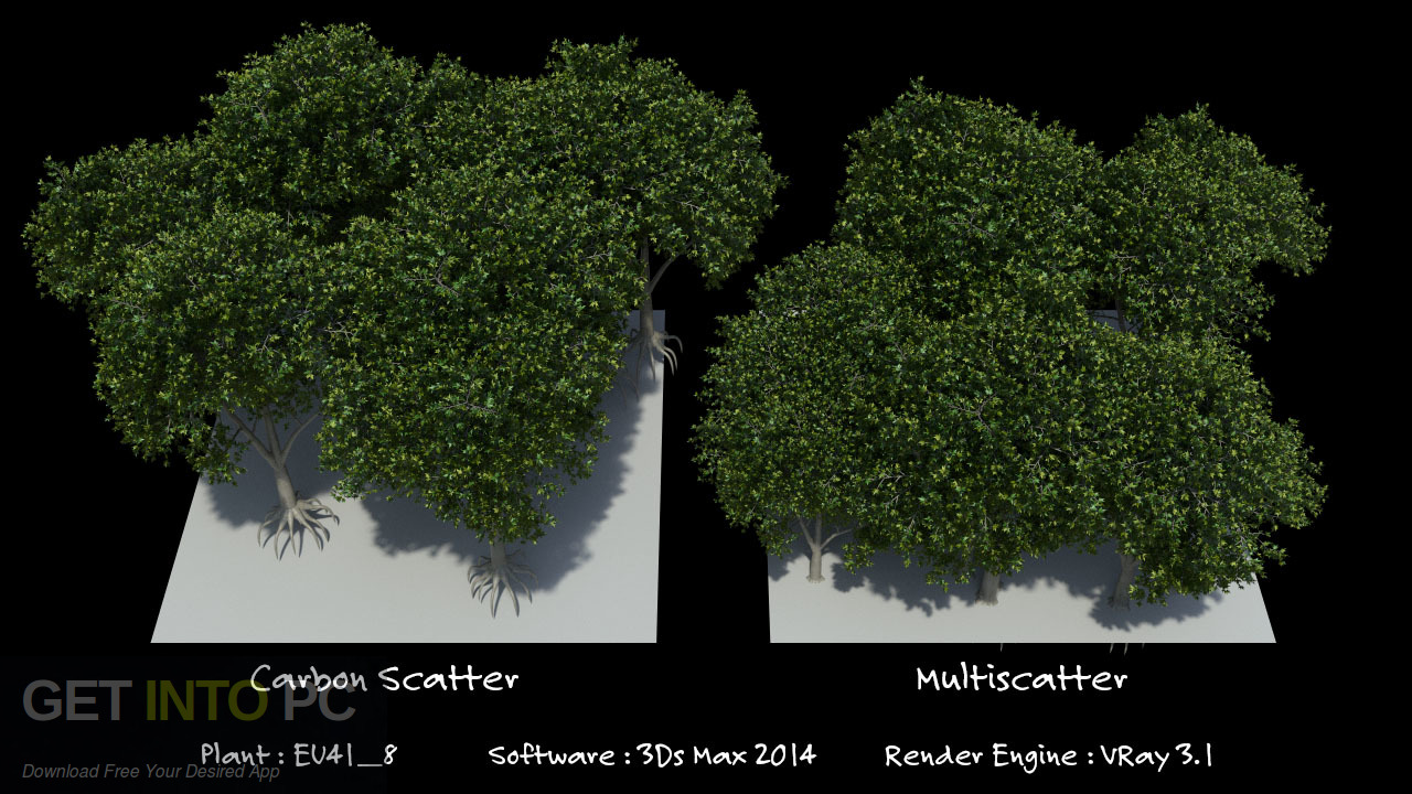 Carbon Scatter Plugin for 3ds Max, Cinema4D, Maya Latest Version Download-GetintoPC.com