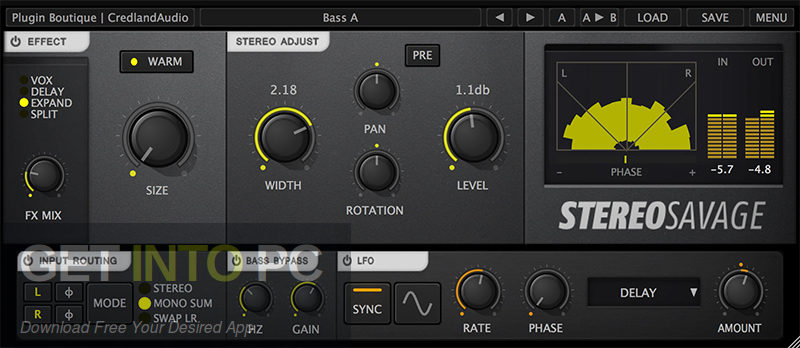 Credland Audio Stereo Savage VST Direct Link Download-GetintoPC.com