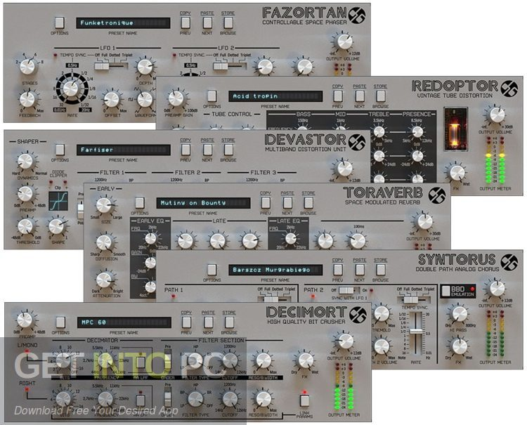D16 All Plugins Total Bundle VST Direct Link Download-GetintoPC.com