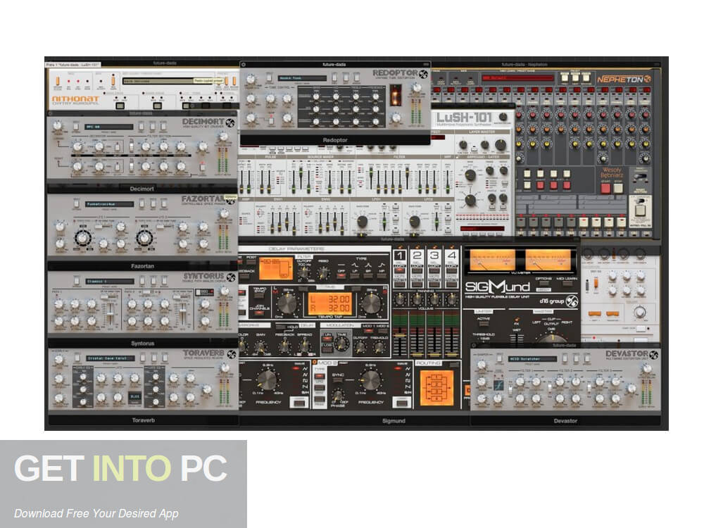 D16 All Plugins Total Bundle VST Latest Version Download-GetintoPC.com