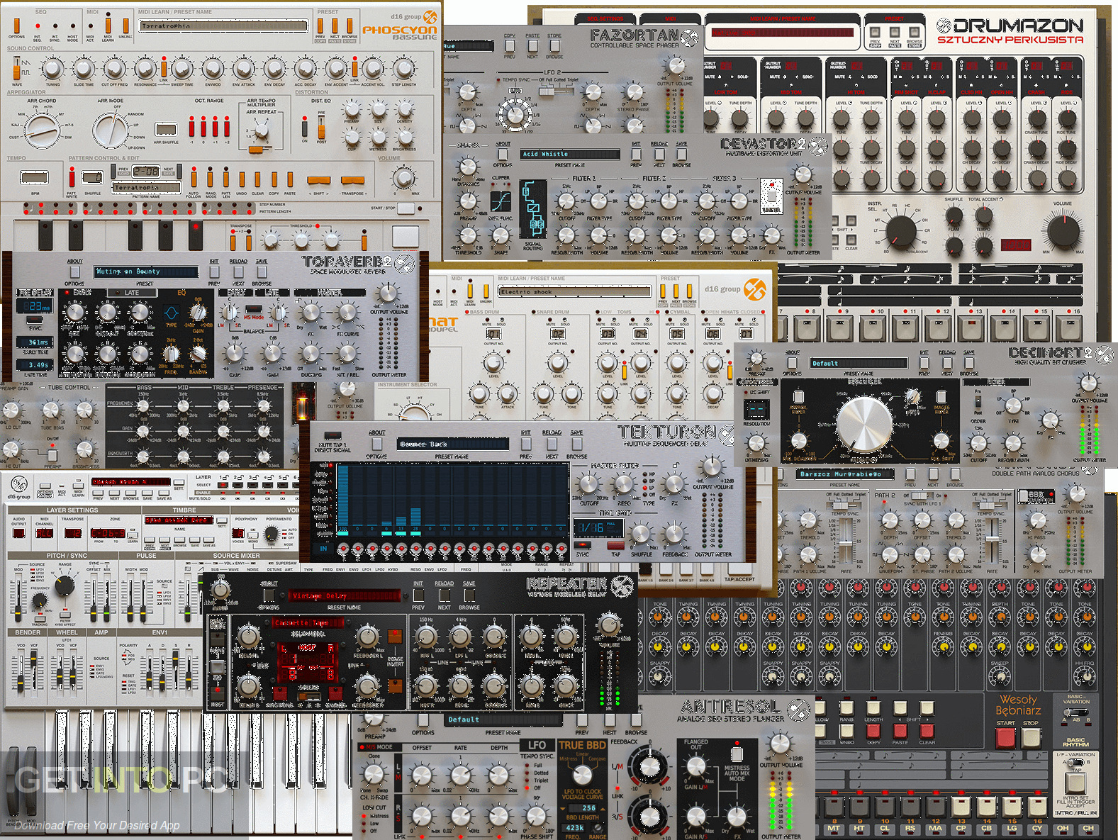 D16 All Plugins Total Bundle VST Offline Installer Download-GetintoPC.com