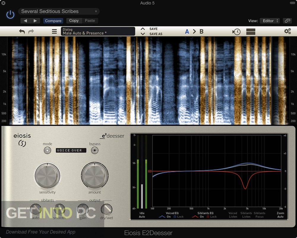 Eiosis E2Deesser VST Direct Link Download-GetintoPC.com