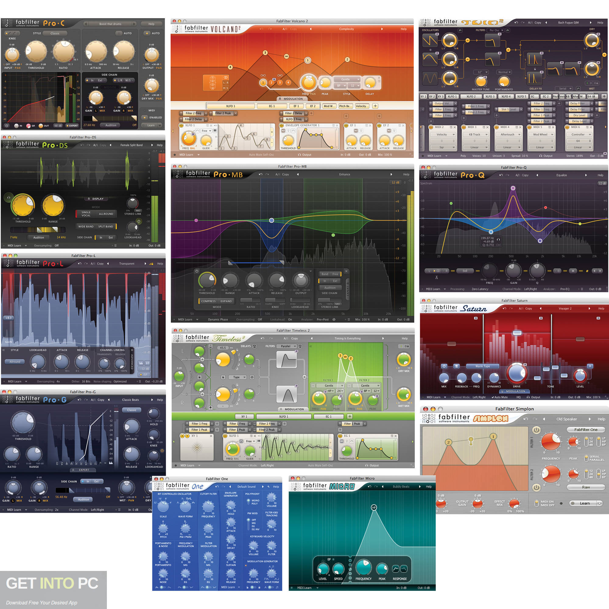 FabFilter Total Bundle VST Latest Version Download-GetintoPC.com