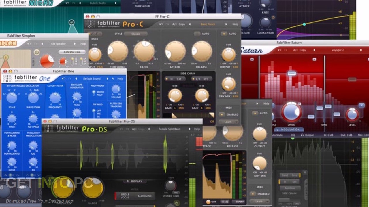 FabFilter Total Bundle VST Offline Installer Download-GetintoPC.com