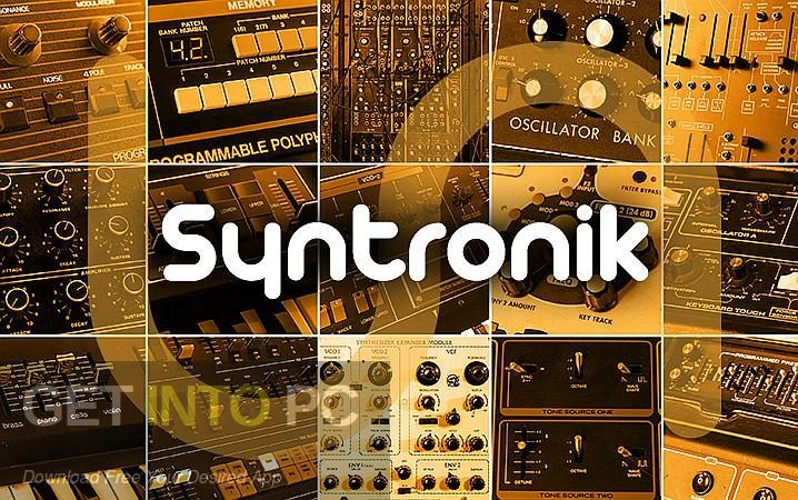 IK Multimedia Syntronik VST Free Download-GetintoPC.com