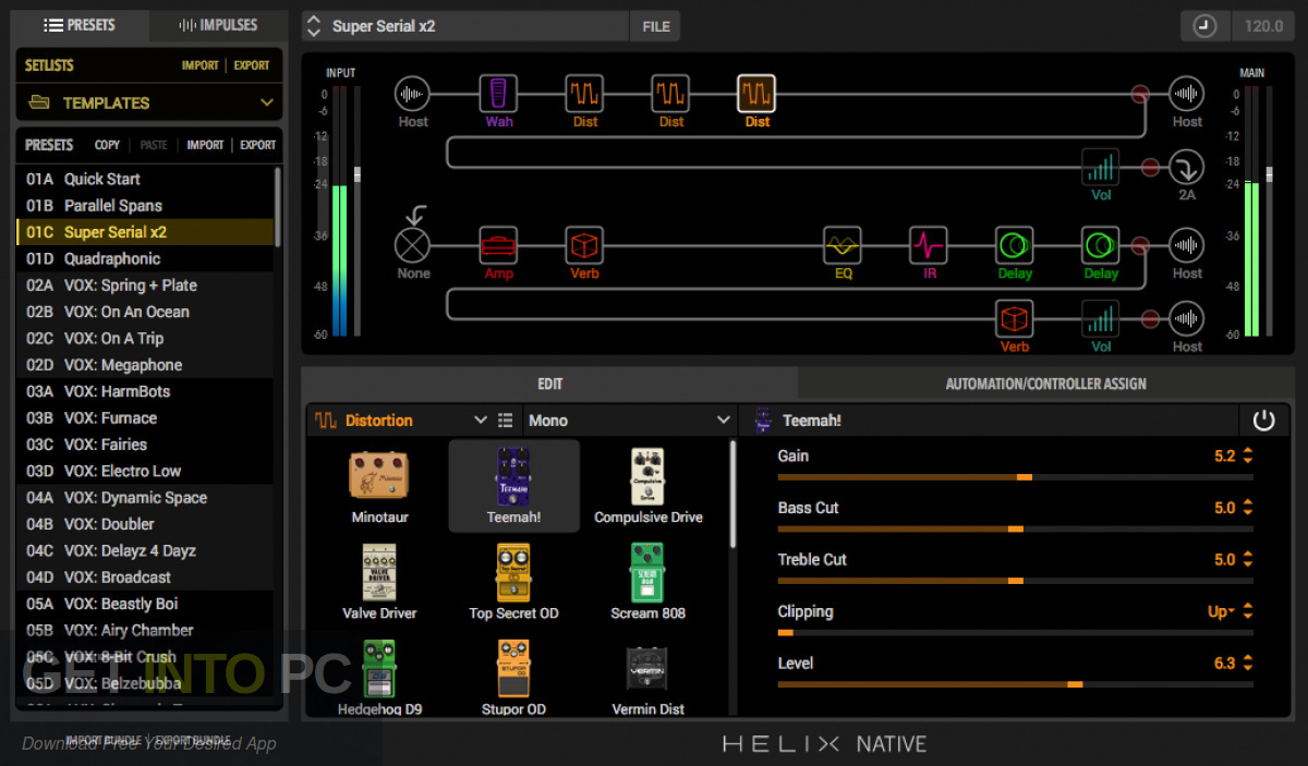 Line6 Helix Native VST Latest Version Download-GetintoPC.com