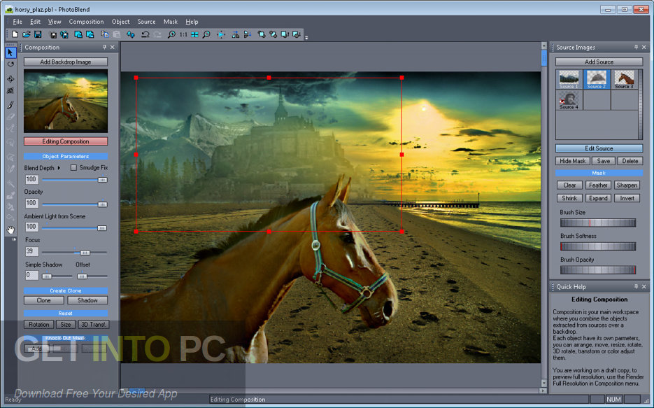 Mediachance Photo BLEND 3D Latest Version Download-GetintoPC.com