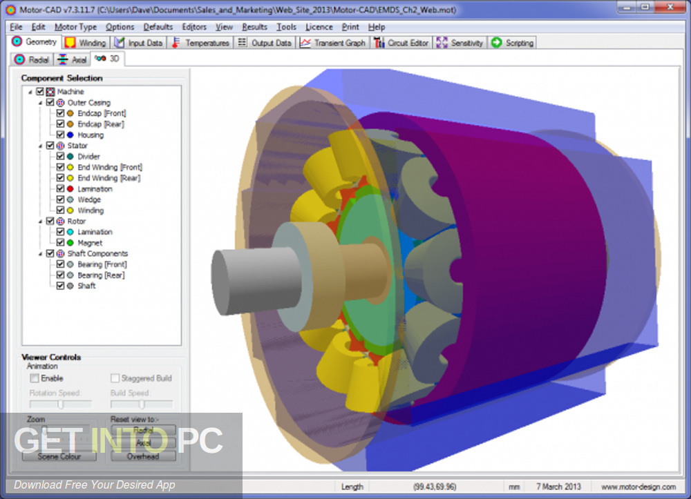 Motor-CAD Latest Version Download-GetintoPC.com