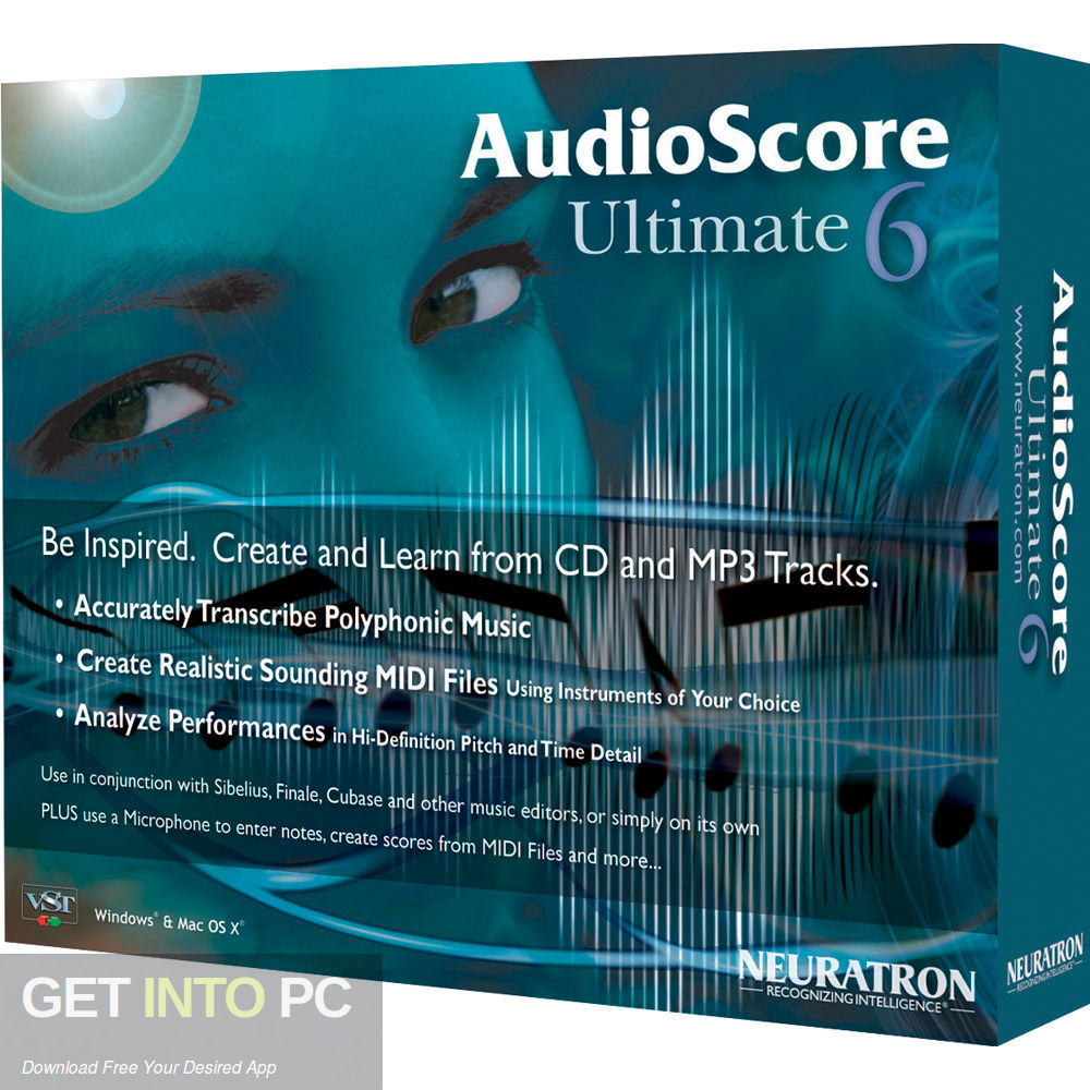 Neuratron AudioScore Ultimate Free Download-GetintoPC.com