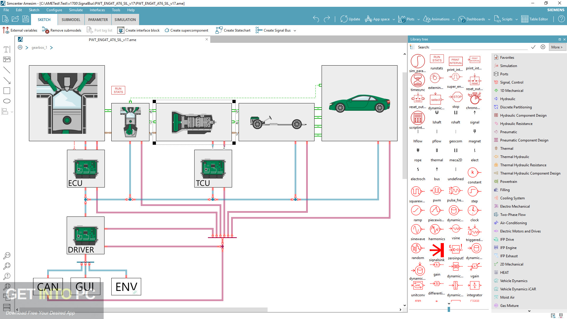 Siemens Simcenter Amesim 2018 Latest Version Download-GetintoPC.com