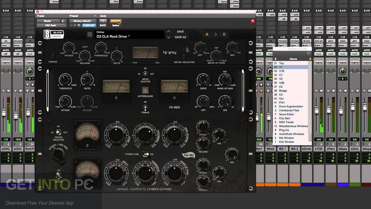 Slate Digital Virtual Buss Compressors VST Latest Version Download-GetintoPC.com