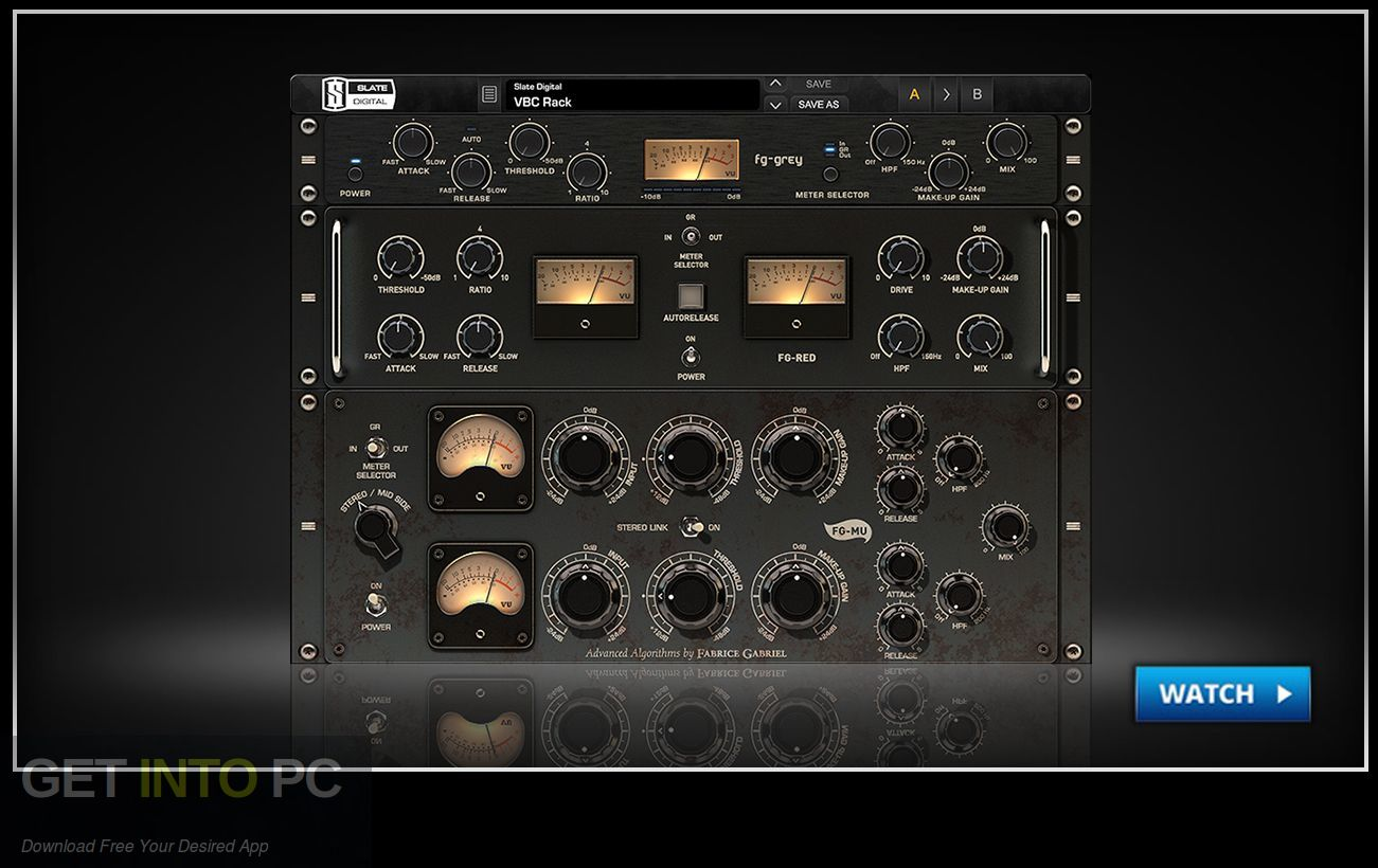 Slate Digital Virtual Buss Compressors VST Offline Installer Download-GetintoPC.com