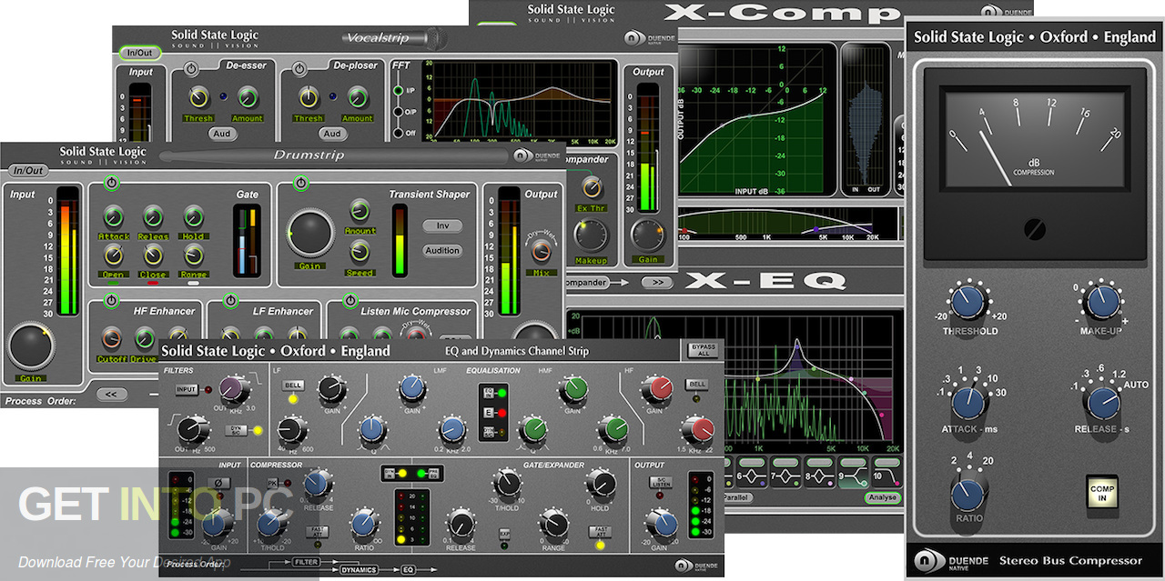 Solid State Logic Duende Native VST Offline Installer Download-GetintoPC.com