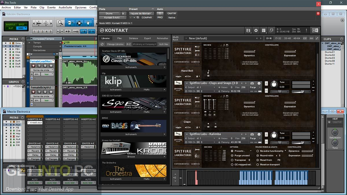Spitfire Audio Labs KONTAKT Libraries Direct Link Download-GetintoPC.com