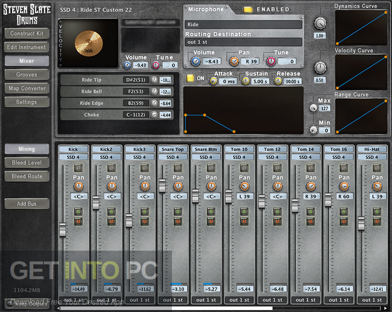 Steven Slate Drums SSD4 Sampler + Library Platinum VST Direct Link Download-GetintoPC.com