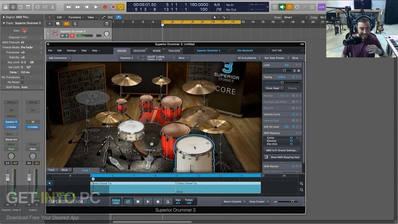Superior Drummer 3 Offline Installer Download-GetintoPC.com