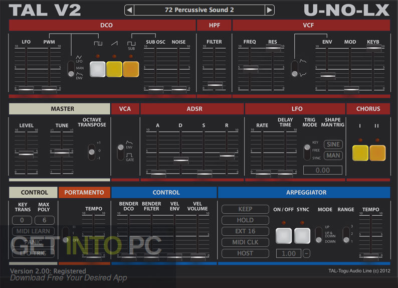 TAL-U-NO-LX VST Latest Version Download-GetintoPC.com