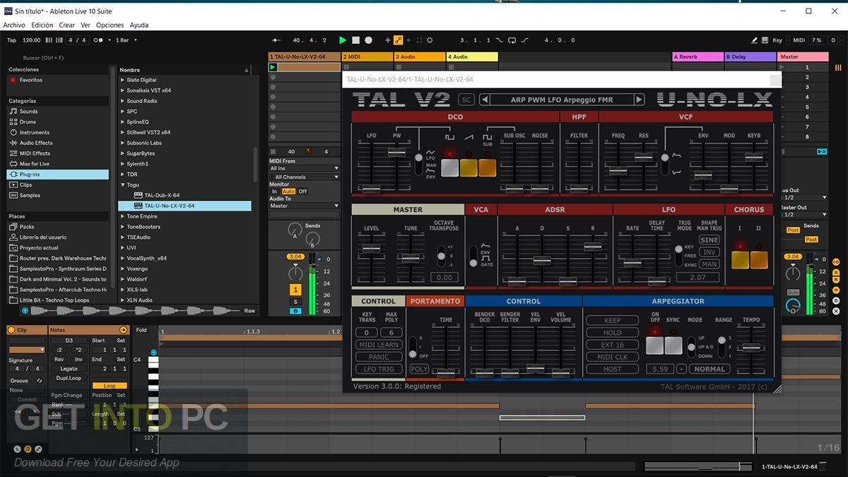 TAL-U-NO-LX VST Offline Installer Download-GetintoPC.com