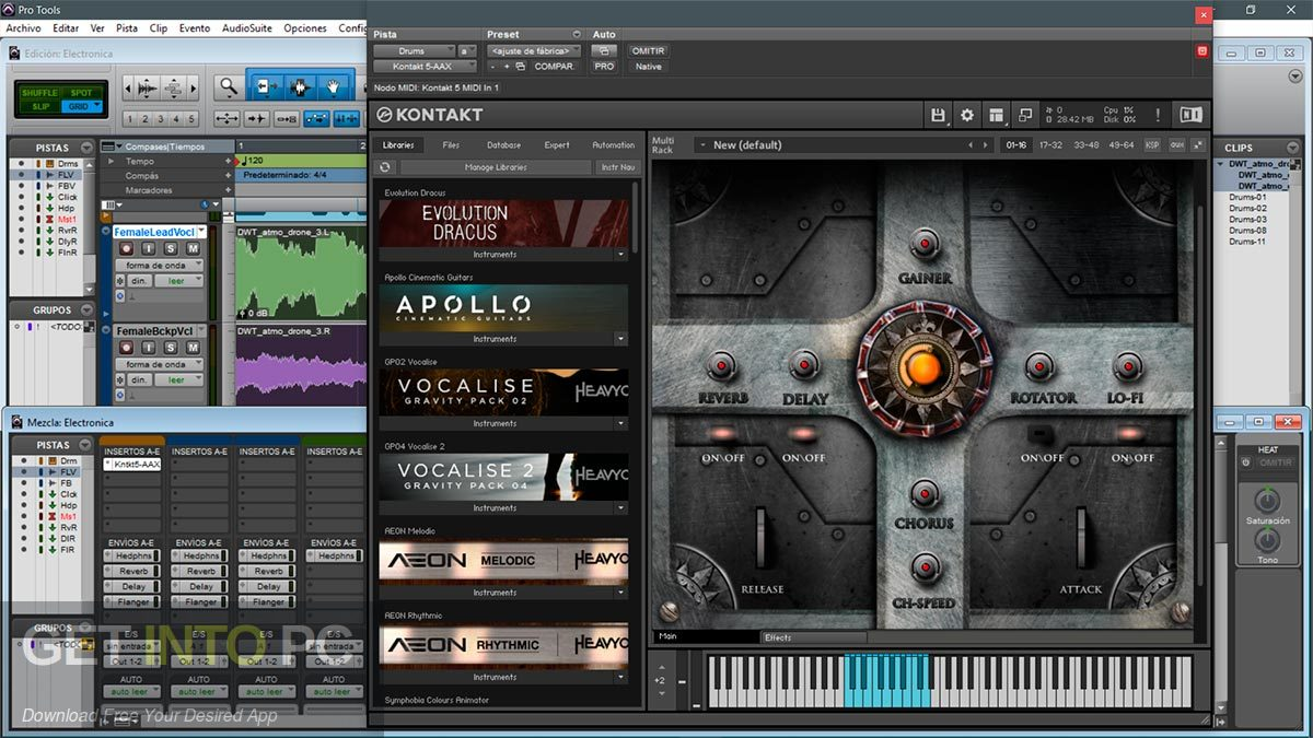 TH Studio Trailer Elements Cinematic Sounds Pack Kontakt Library Direct Link Download-GetintoPC.com