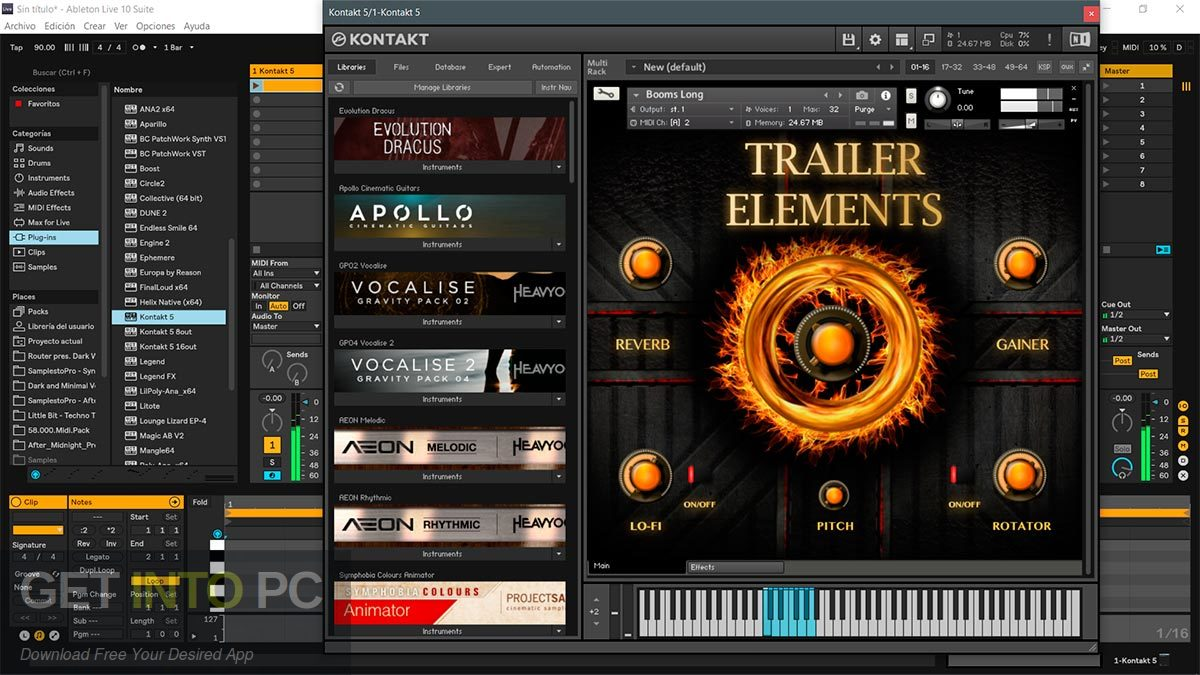 TH Studio Trailer Elements Cinematic Sounds Pack Kontakt Library Latest Version Download-GetintoPC.com