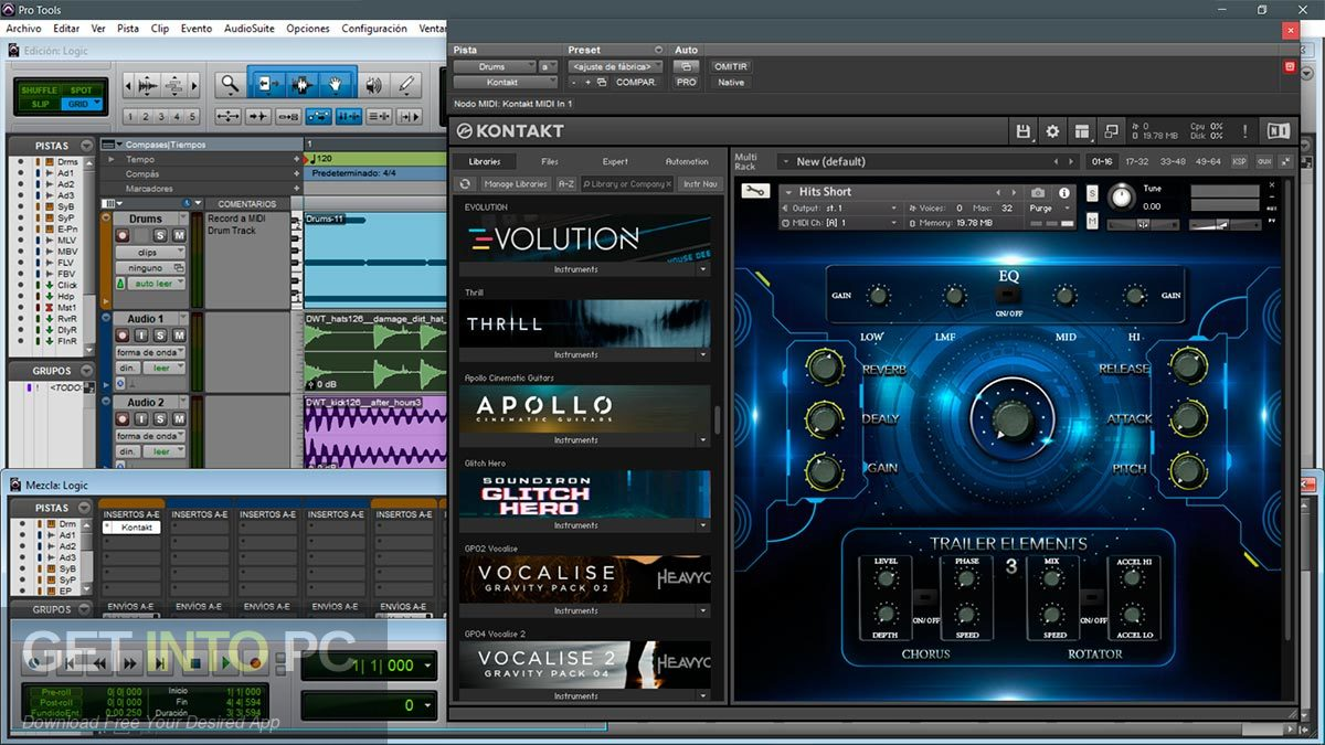 TH Studio Trailer Elements Cinematic Sounds Pack Kontakt Library Offline Installer Download-GetintoPC.com