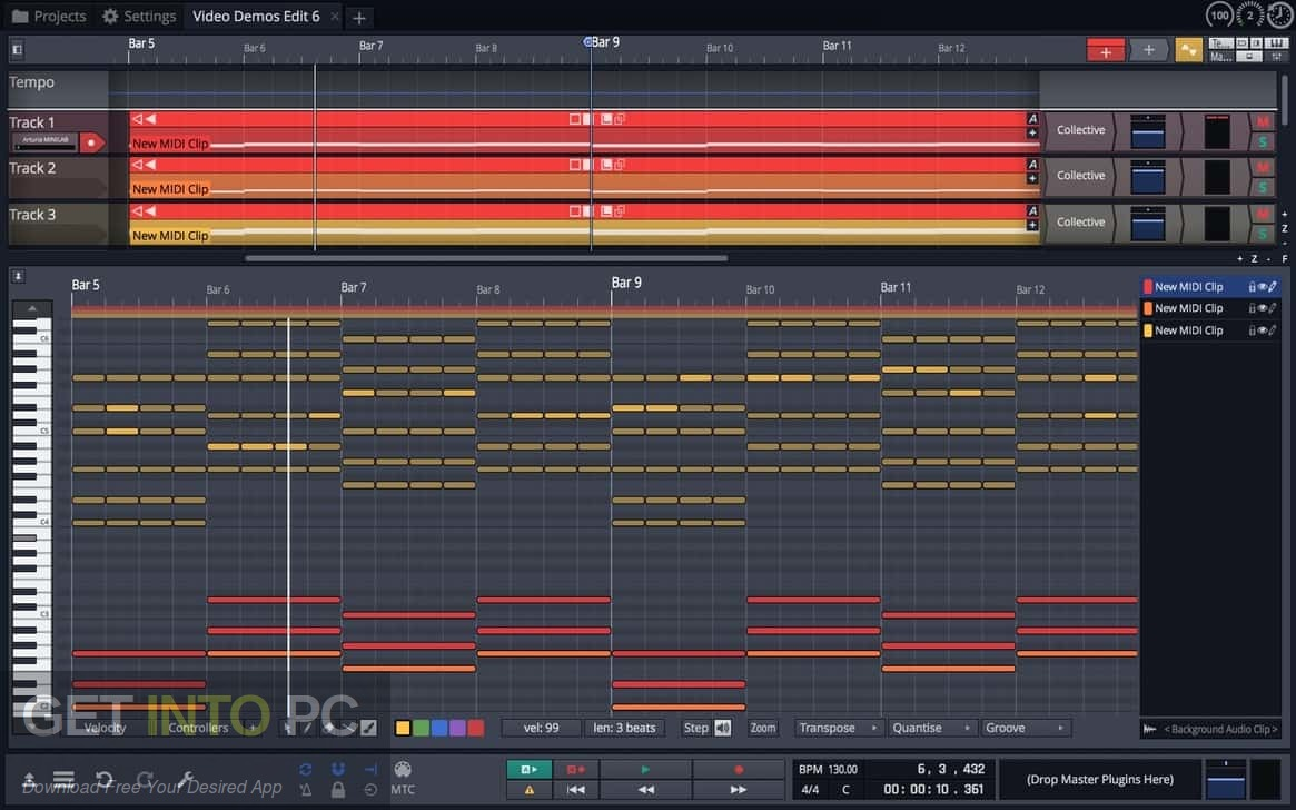 Tracktion Waveform 9 VST Latest Version Download-GetintoPC.com
