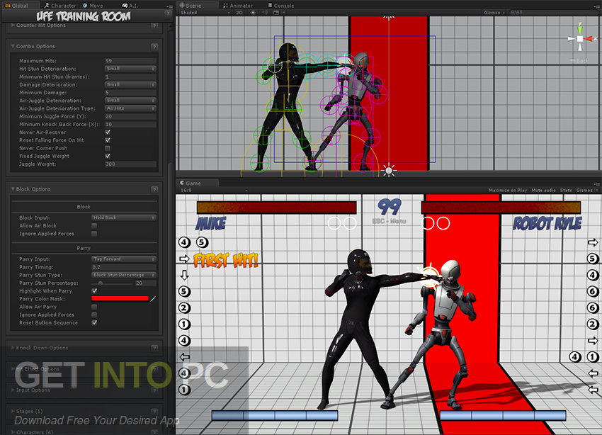 Universal Fighting Engine Unity Asset Latest Version Download-GetintoPC.com