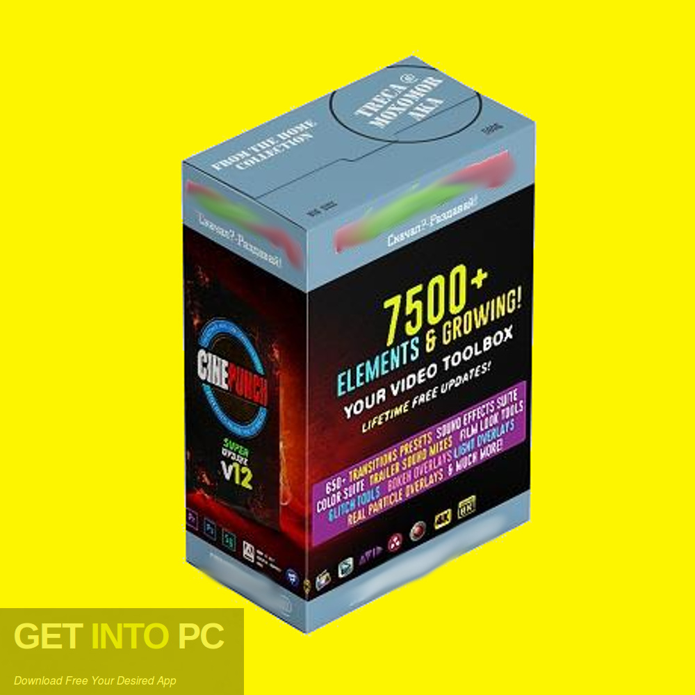 VideoHive CINEPUNCH 7500+ Elements 2018 Free Download