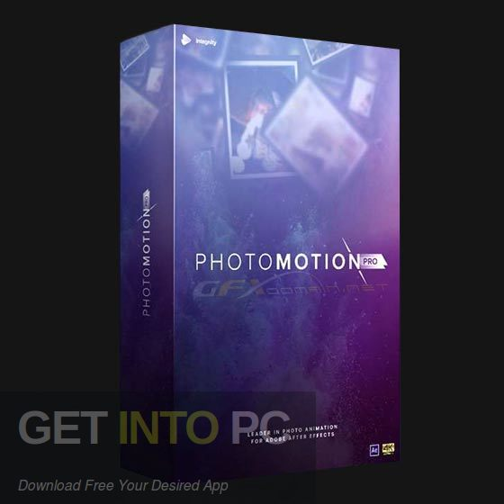 VideoHive PhotoMotion Professional 3D Photo Animator Free Download-GetintoPC.com