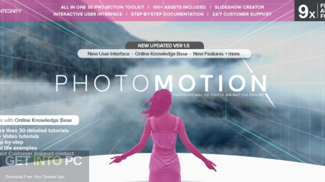 VideoHive PhotoMotion Professional 3D Photo Animator Latest Version Download-GetintoPC.com
