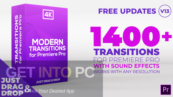 Videohive - Modern Transitions For Premiere PRO Direct Link Download-GetintoPC.com