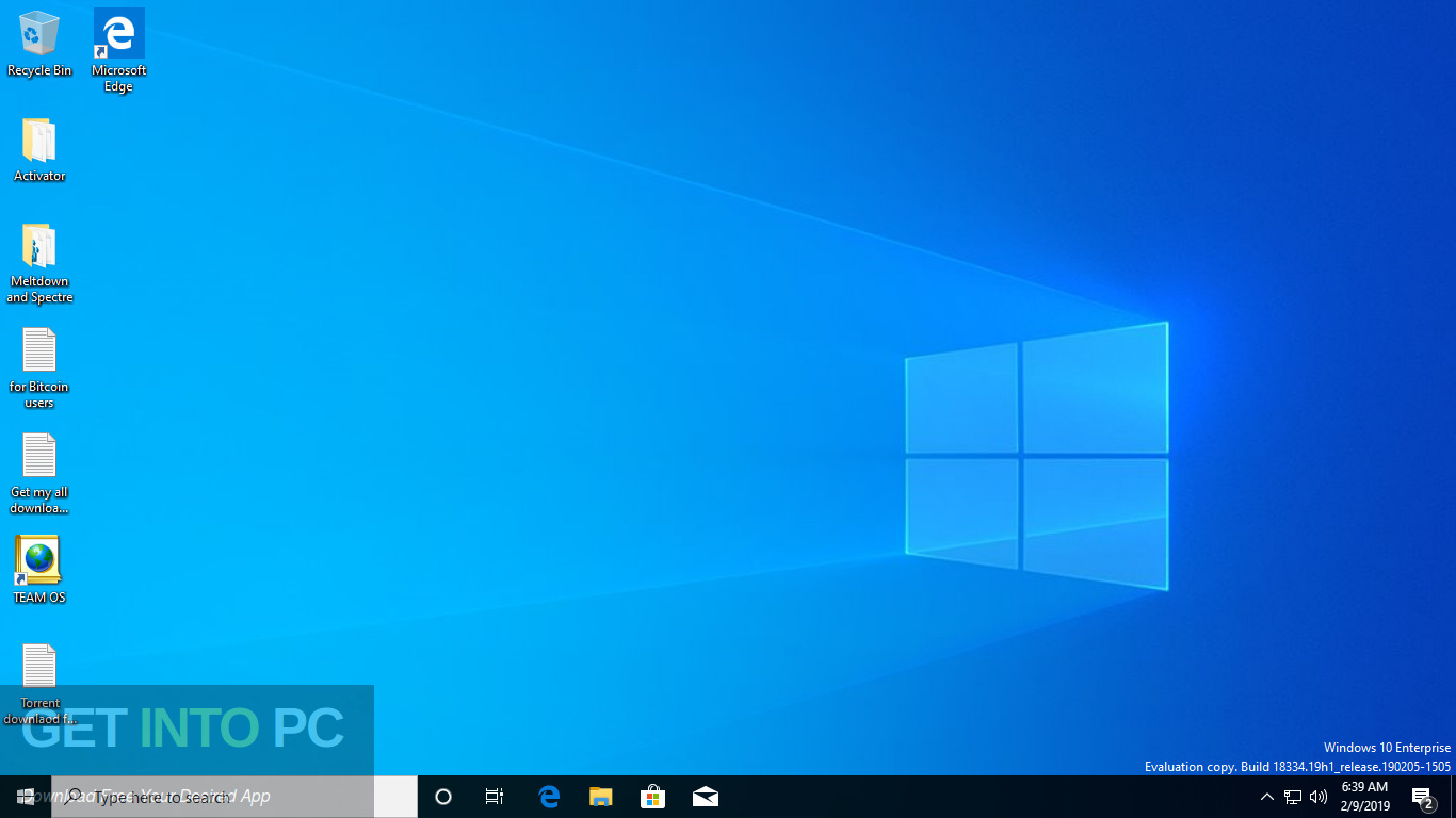 Windows 10 AIO 19H1 32 64 Bit Feb 2019 Screenshot 7-GetintoPC.com