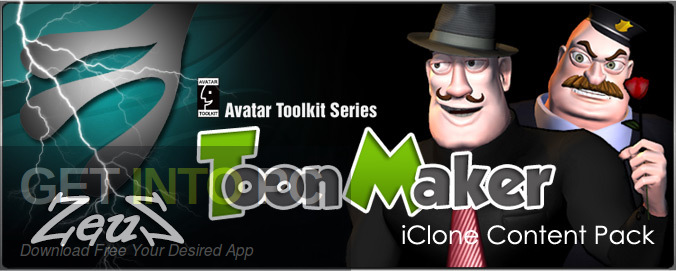 iClone Combo Toon Maker 2 Plugin Free Download-GetintoPC.com