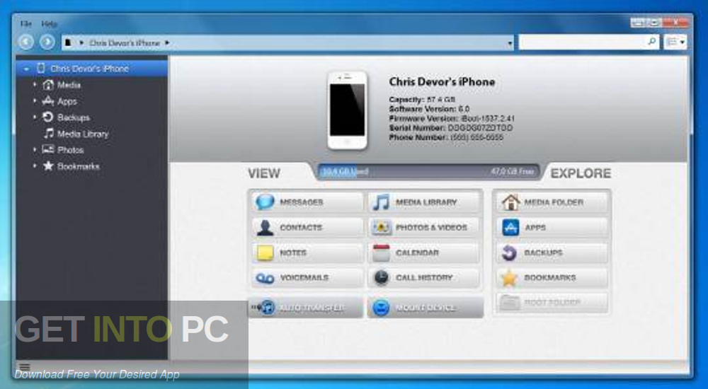 iExplorer 2019 Offline Installer Download-GetintoPC.com