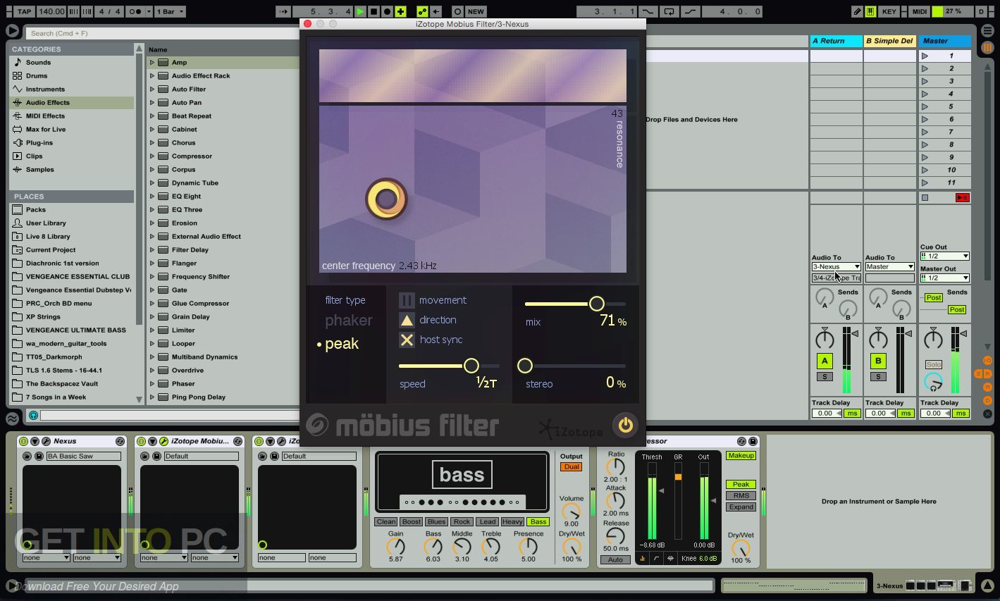 iZotope Mobius Filter VST Direct Link Download-GetintoPC.com