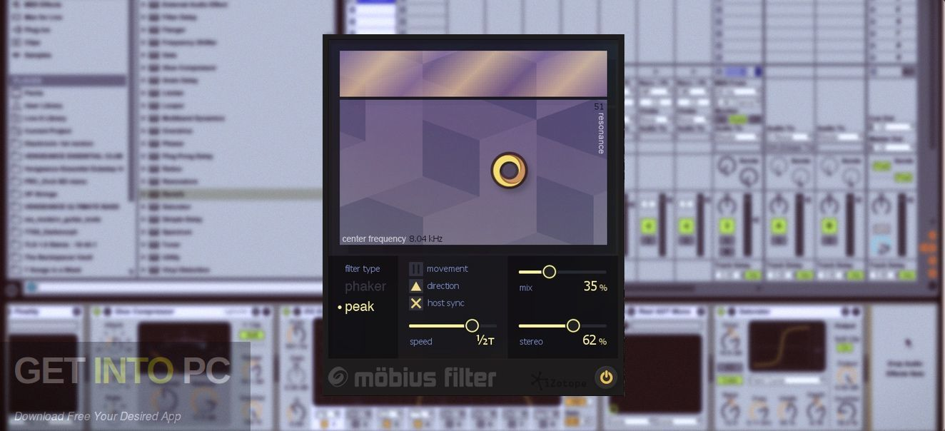 iZotope Mobius Filter VST Latest Version Download-GetintoPC.com
