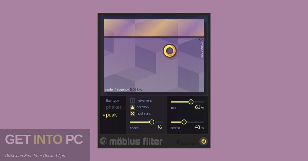 iZotope Mobius Filter VST Offline Installer Download-GetintoPC.com