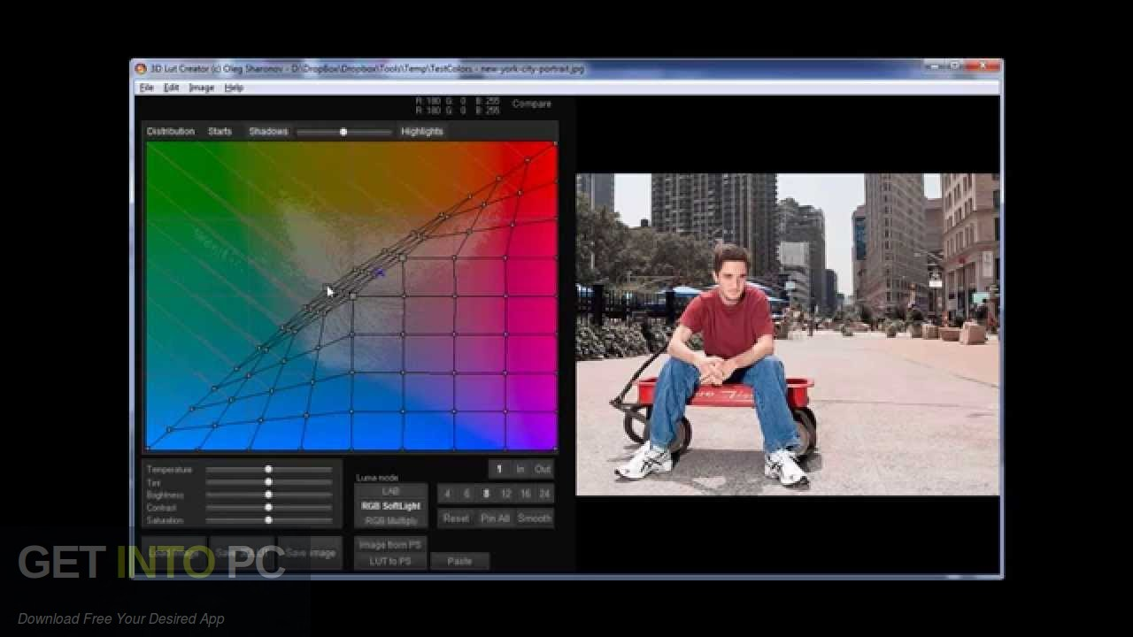 3D Lut Creator 2017 Offline Installer Download-GetintoPC.com