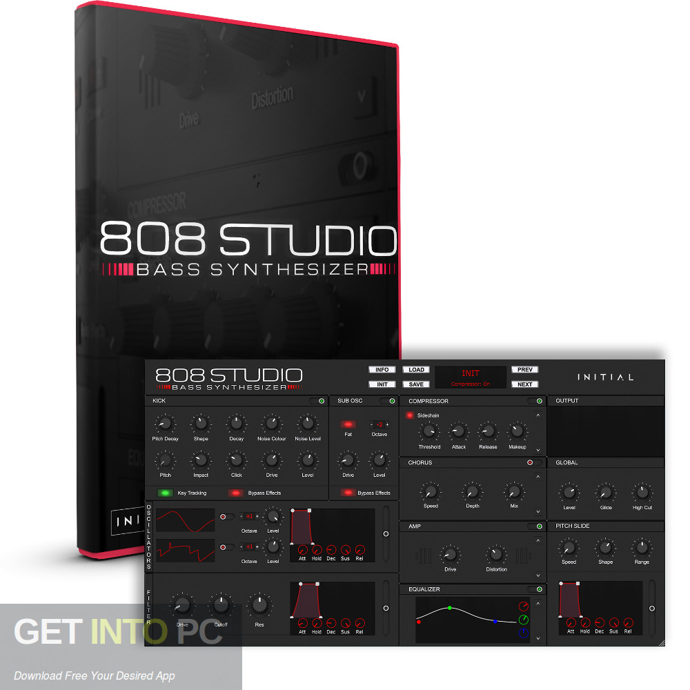 808 Studio VST Free Download-GetintoPC.com