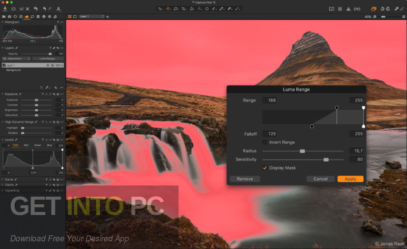 Capture One Pro 12 for Mac Latest Version Download-GetintoPC.com