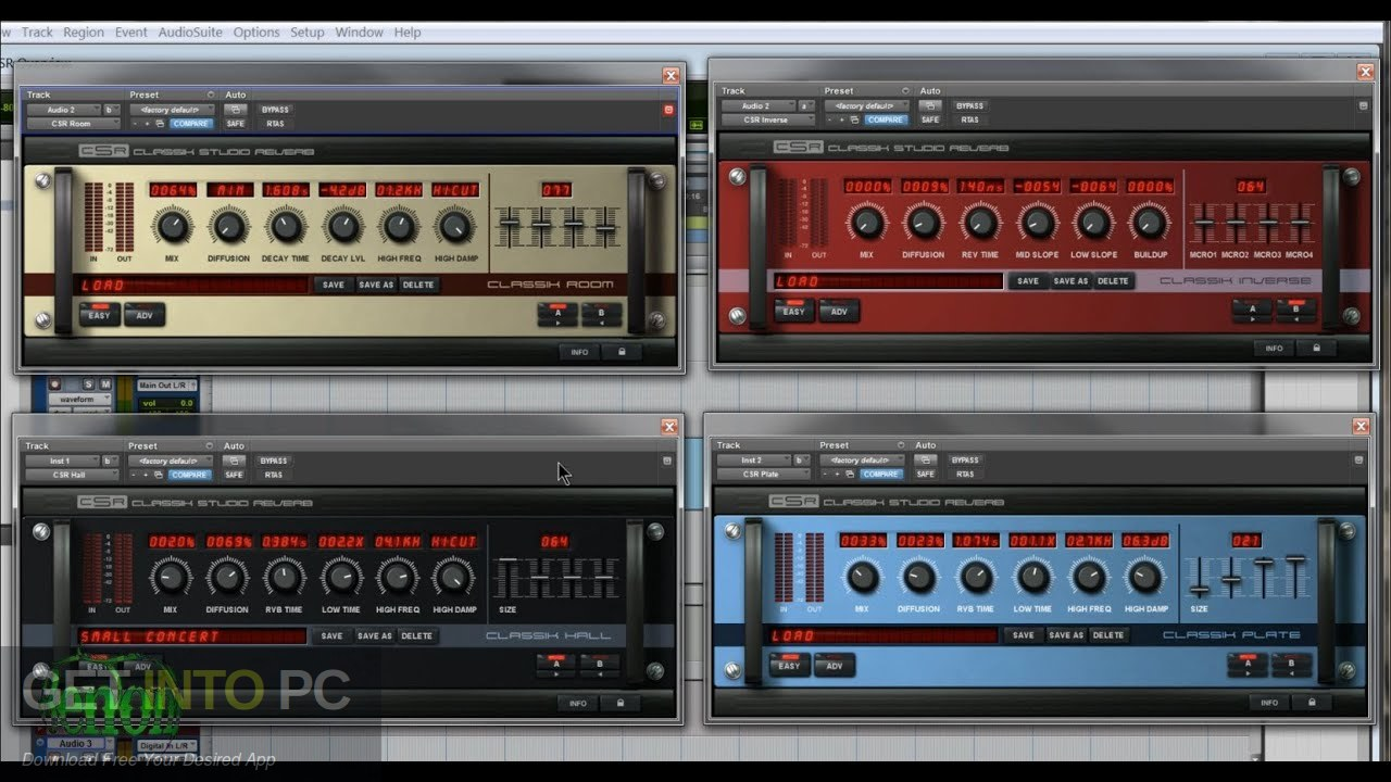 Classik Studio Reverb VST Direct Link Downlod-GetintoPC.com