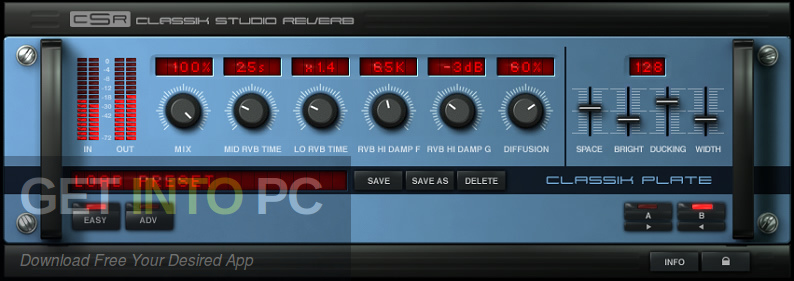 Classik Studio Reverb VST Latest Version Download-GetintoPC.com