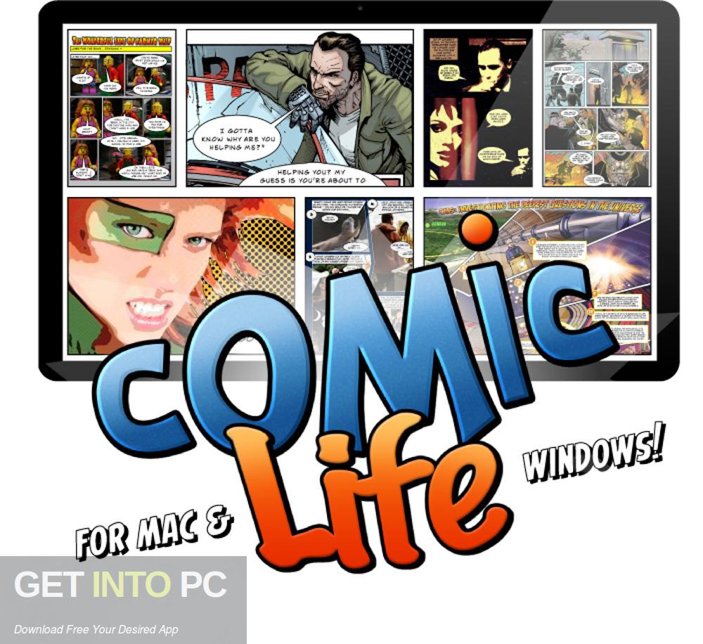 Comic Life for Mac Free Download-GetintoPC.com