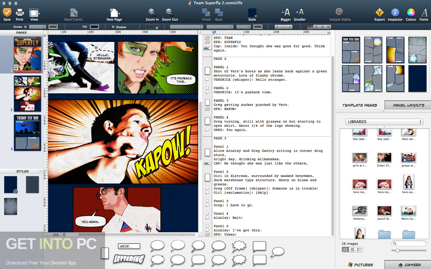 Comic Life for Mac Offline Installer Download-GetintoPC.com