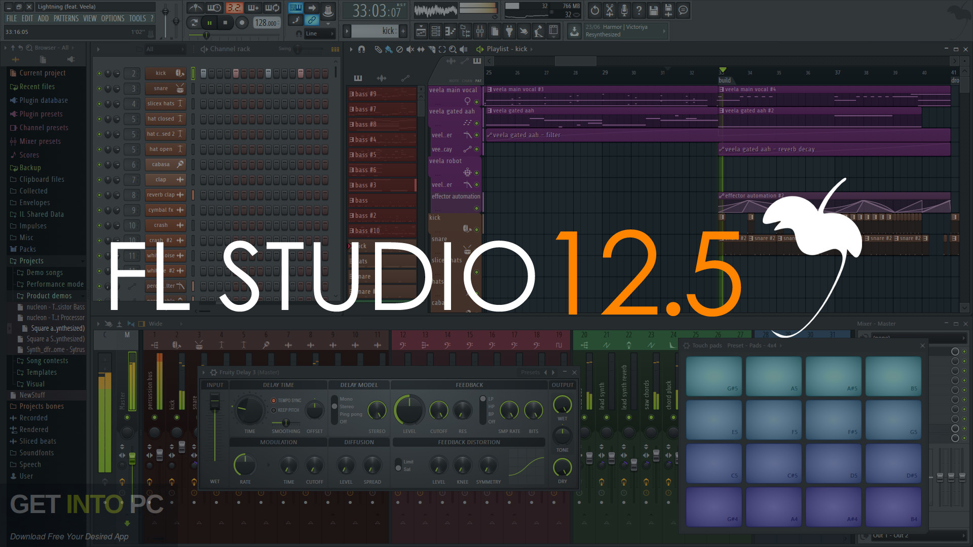 FL Studio 12 5 Signature Bundle + All FL Studio Plugins Download