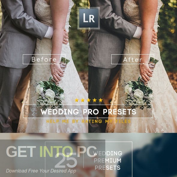 GraphicRiver - Wedding Premium Lightroom Presets Free Download-GetintoPC.com