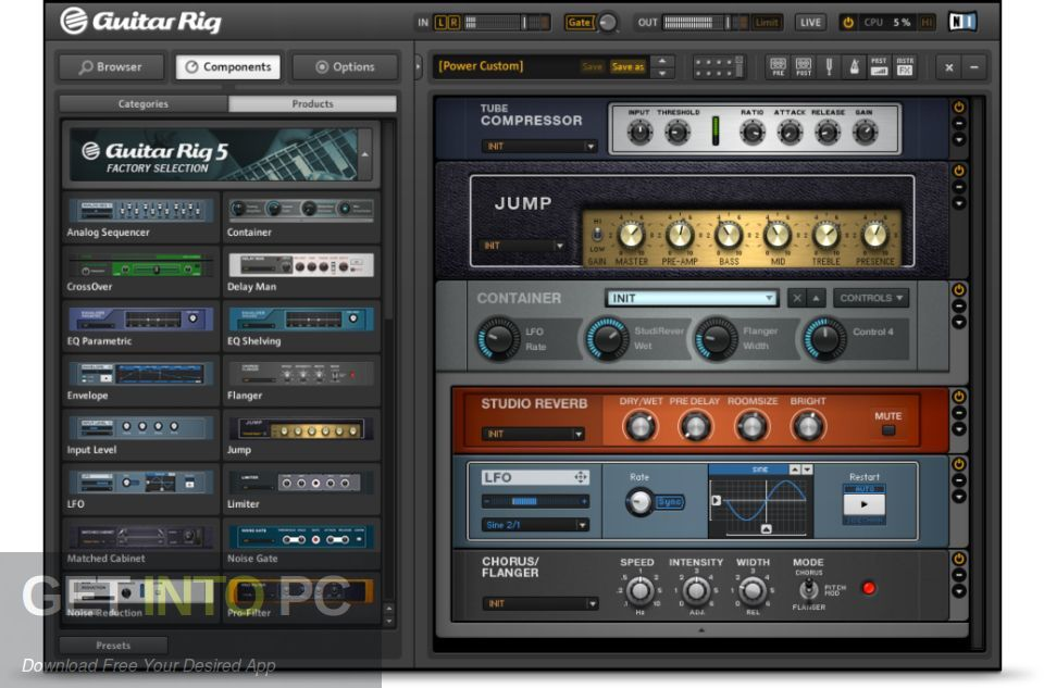 Guitar Rig VST Latest Version Download-GetintoPC.com