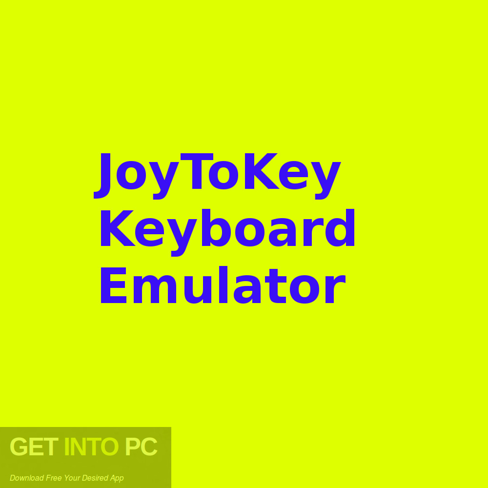 JoyToKey Keyboard Emulator Free Download-GetintoPC.com